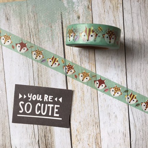 Nordic Fox Washi Tape-The Persnickety Co