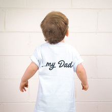 Load image into Gallery viewer, My Hero, My Dad Kids Youth Tee (White)