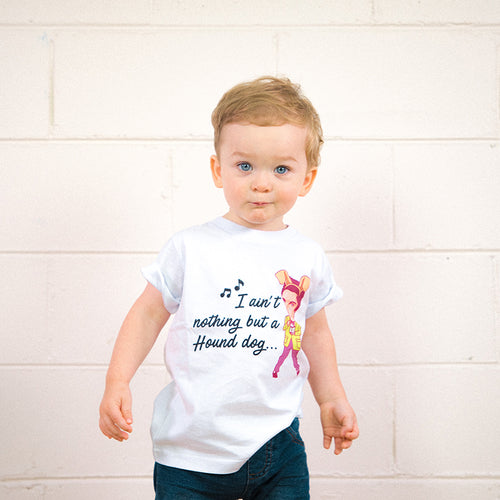 Hound Dog Kids Youth Tee (White)