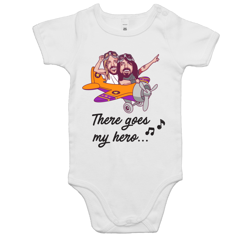 My Hero Onesie (White)