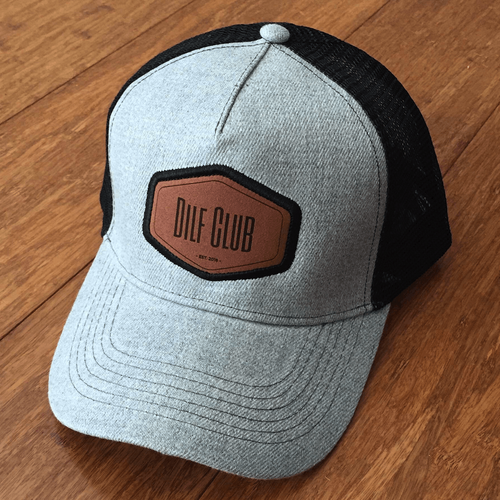 DILF Hat - Light Grey