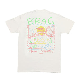 Brag About Sydney Tee (White)