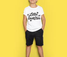 Load image into Gallery viewer, Little Rockstar Kids Youth Tee (White)