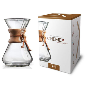 Chemex Classic 10-cup Pour Over Brewer