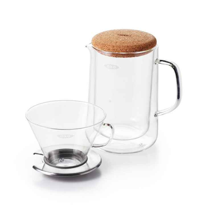 OXO Good Grips Glass Pour-Over Set