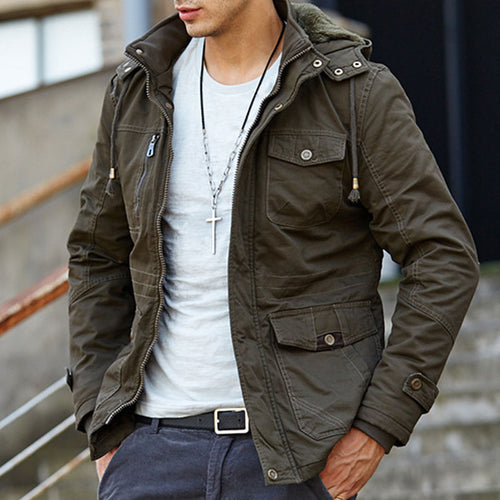 Cashmere Warm Cold-proof Recreation Men's Jacket