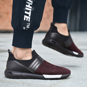 Breathable Pointed Toe Pedal Men's Sneakers