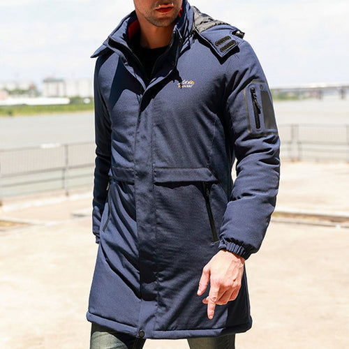 Thickening Medium Long-term Heat Preservation Men's Jacket
