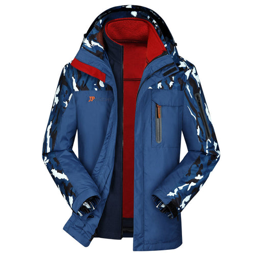 Outdoor Furring Thickening Charge Garments Men's Jacket