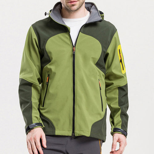 Soft Shell Charge Outdoor Travel Men's Jacket
