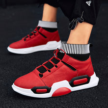 High Waisted Solid Color Hip Hop Men's Sneakers