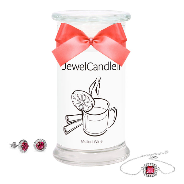 Mulled Wine - Scented Candle with Hidden Jewelry