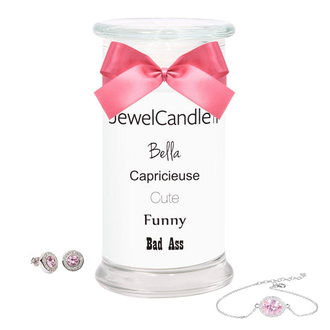 Bella - Scented Candle with Hidden Jewelry
