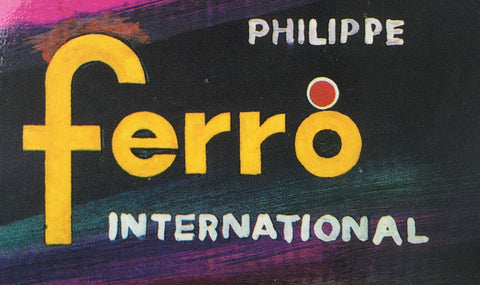 Ferro vintage price tag from 1992