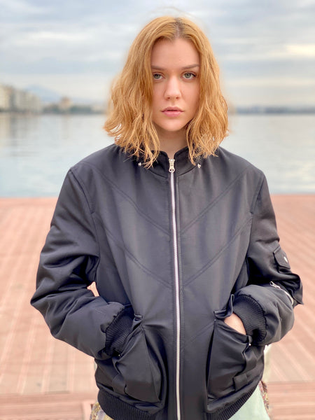 Mrs. Pretty Flacko Vintage Jacket (Black)