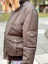 Mrs. Pretty Flacko Vintage Jacket (Brown)