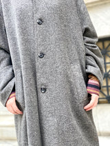 Mrs. Clouseau Vintage Coat (Gray)