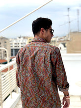 The Eccentric Vintage Printed Shirt for Men Back