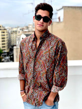 The Eccentric Vintage Printed Shirt for Men Front