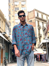 Mr Twin #2 Vintage Printed Shirt for Men Front