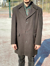 90s style retro coat front side