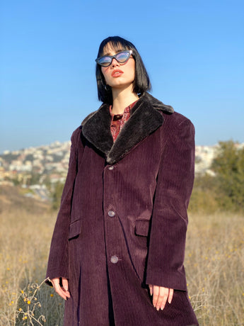 Mrs. Disco Vintage Coat