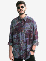 Mr. Urban Vintage Printed Shirt for Men Front