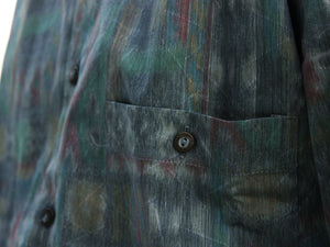 Mr. Impressionist Vintage Printed Shirt for Men Pocket