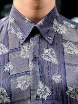 Mr. Dreamcathcer Vintage Printed Shirt for Men Collar