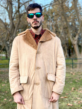 80s style vintage coat for men