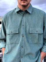 Mr. Corduroy (Green) Vintage Shirt