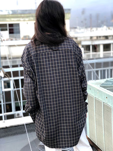Mrs. Checkered (Green) Vintage Shirt