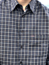 Mr. Checkered (Green) Vintage Shirt