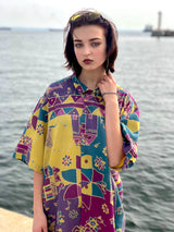 Mrs. Peacock Vintage Shirt (Purple)