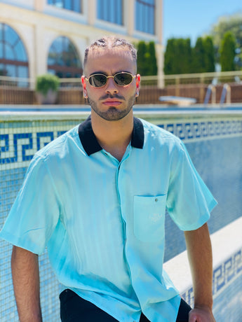 Mr. Diego Vintage Shirt (Blue)