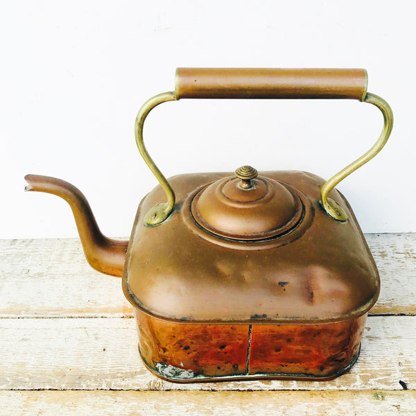 Vintage Copper Teapot
