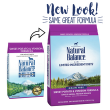 Load image into Gallery viewer, Natural Balance L.I.D. Limited Ingredient Diets Adult Maintenance Sweet Potato and Venison Dry Dog Food