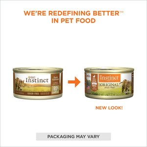 Nature's Variety Instinct Grain-Free Duck Formula Canned Cat Food