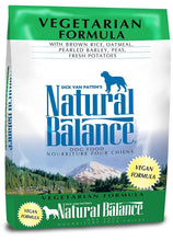 Load image into Gallery viewer, Natural Balance Vegetarian Formula Dry Dog Food