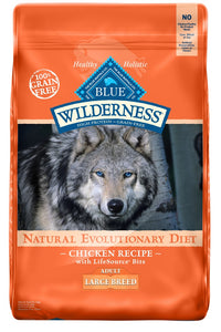 Blue Buffalo Wilderness Grain Free Large Breed Chicken Dry Dog Food