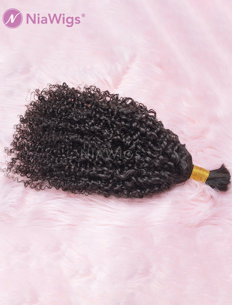 Bulk Hair Extension For Braiding Without Attachment Tight Curly