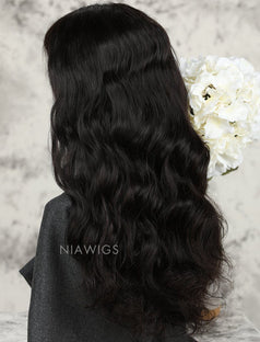 Load image into Gallery viewer, Natural Wave Human Hair Lace Front Wigs Softness & Smoothness