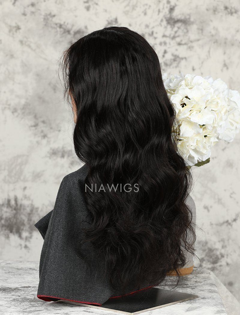 Load image into Gallery viewer, Loose Wave Human Hair Glueless Full Stretchable Wigs With Baby Hair