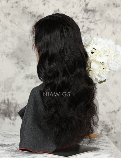 Loose Wave Human Hair Lace Front Wigs Softness & Smoothness