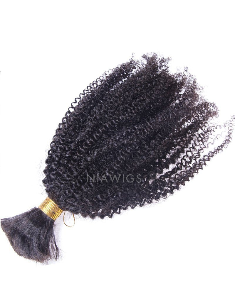 Load image into Gallery viewer, Bulk Hair Extenstion For Braiding Without Attachment Afro Kinky Curly