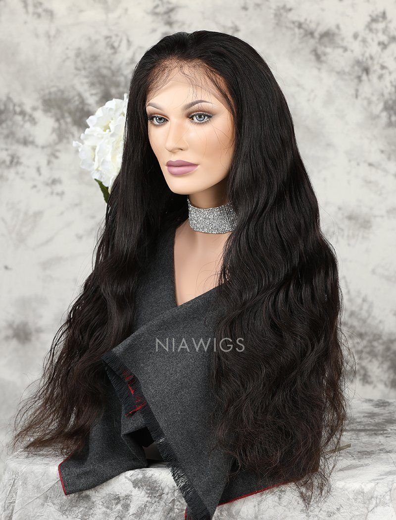 Body Wave 100% Real Human Hair 5x5 Inches Lace Front Wigs