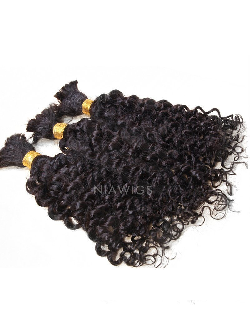 Bulk Hair Extenstion For Braiding Without Attachment Kinky Curly