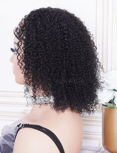 Load image into Gallery viewer, New Arrival Kinky Curly Head Band Wig Human Hair Machine Made Wigs