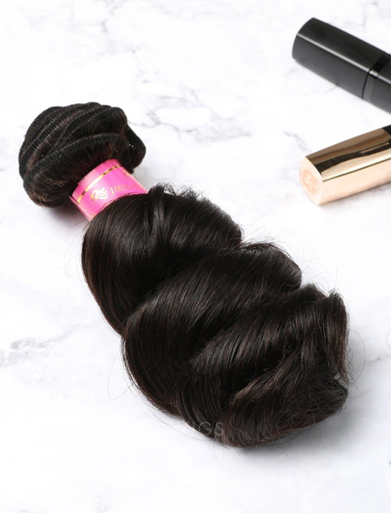 Load image into Gallery viewer, Hair Weft Bundles Natural Color Brazilian Loose Wave Human Hair