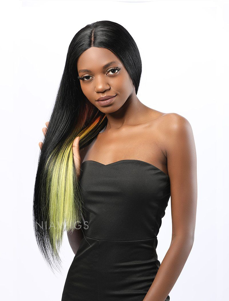 Load image into Gallery viewer, Shanice||Remy Hair 20 Inches Lace Front Wig Balayage